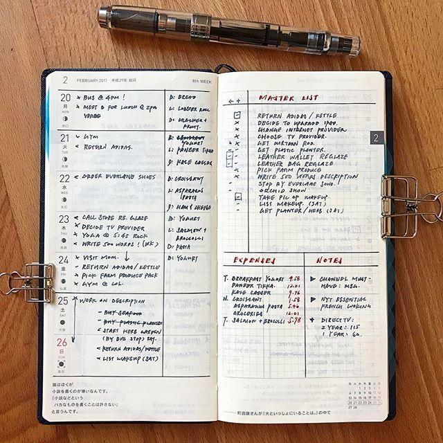 Weekly As Of Late Bulletjournal Minimalistbujo Planner