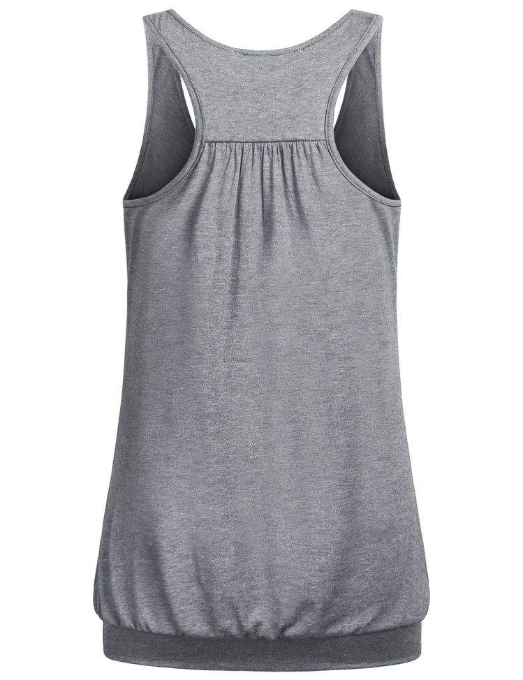 13755ab65833be pregnancy workout - Miusey Tank Tops for Women Juniors Round Neck Sleeveless  Racerback Ribbed Workout Loose