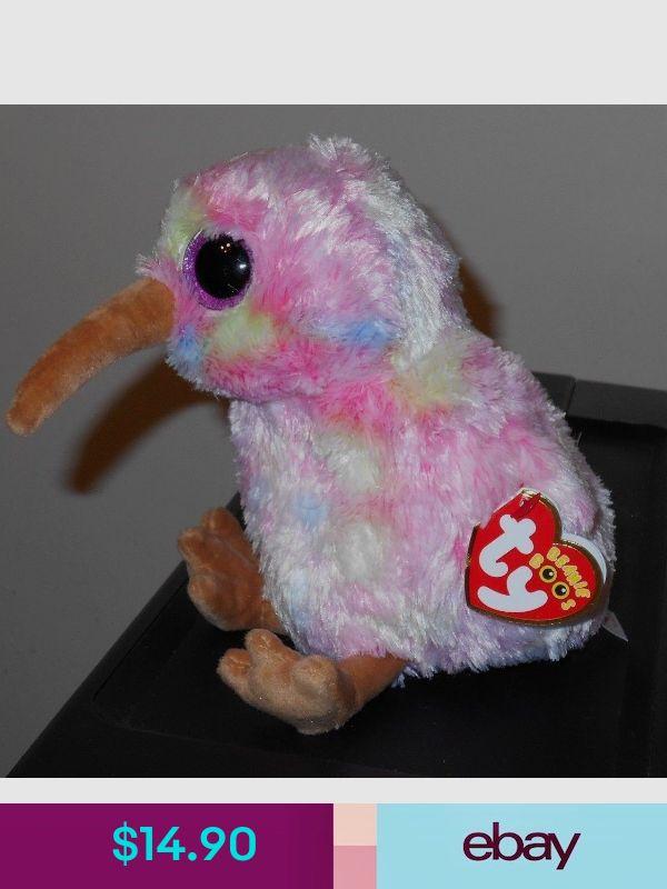 """Set of 2 TY Beanie Baby 6/"""" GRACIE /& ODETTE Valentines White Pink Swan Plush MWMT"""