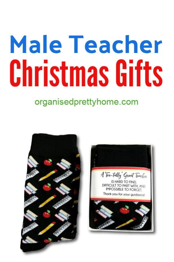 Love these handmade and unique male teacher gift ideas for