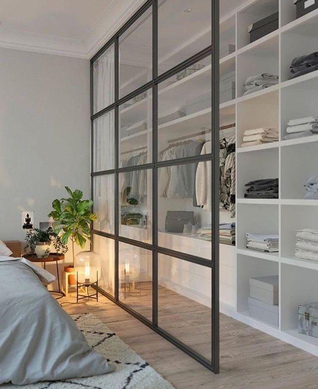 Qui n'a jamais rêvé d'avoir un superbe dressing ? 😍 ⠀ Je perds mes mots devant cette merveille. La séparation en verrière me fait complètement craquer ! Dîtes-moi si vous aimez cette inspiration déco ? 😊 ⠀ .⠀ .⠀ Crédits : @360buro⠀ .⠀ #decoration #decorationinterieur #maison #chambre #interieur #madeco #madecoamoi #chezmoi #lit #decor #homedecor #homestyle #interior #interiordesign #interior123 #interior4all #design #modern #scandinavian #bedroom #bed #picoftheday #décoration #pictures #...