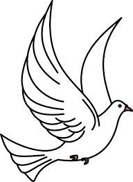 Okul öncesi Haberleşme Güvercini Boyama Sayfası Googleda