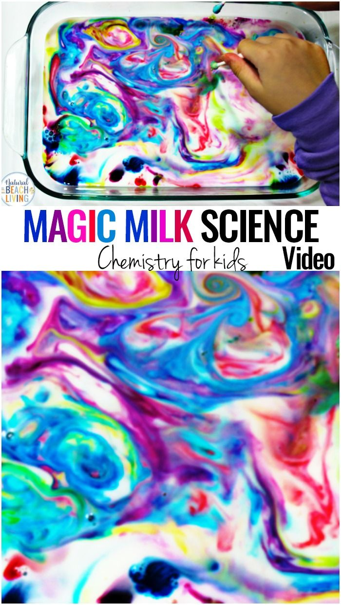 Magic Milk Science Experiment for Kids with Video - Montessori Science - Natural Beach Living