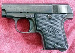 MAB Model A (Type II Second Variant) pistol  Originally pro