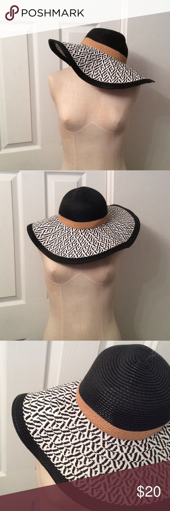 c826d69f4 s u n h a t. Floppy sun hat from Target No flaws! Black, b