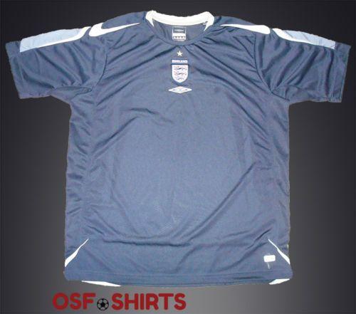 e2d15e67b ORIGINAL ENGLAND Training 2006 Umbro (XL) FOOTBALL SHIRT Jersey Soccer  Camisa