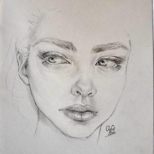 Artista de desenho a lápis: Annelies Bes