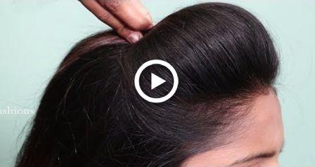 NOVOS Penteados Ponytail High Pufftail para cabelos longos |  Penteados fáceis de rabo de cavalo 2018 |  cabelo