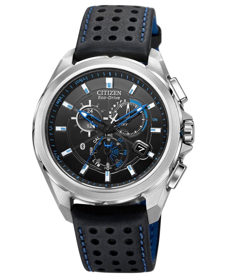 9124742c961b Citizen Men s Chronograph Eco-Drive Proximity Bluetooth Bl