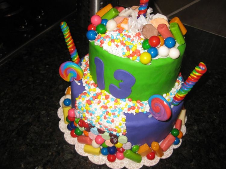 Thirteenth Birthday Cake Ideas