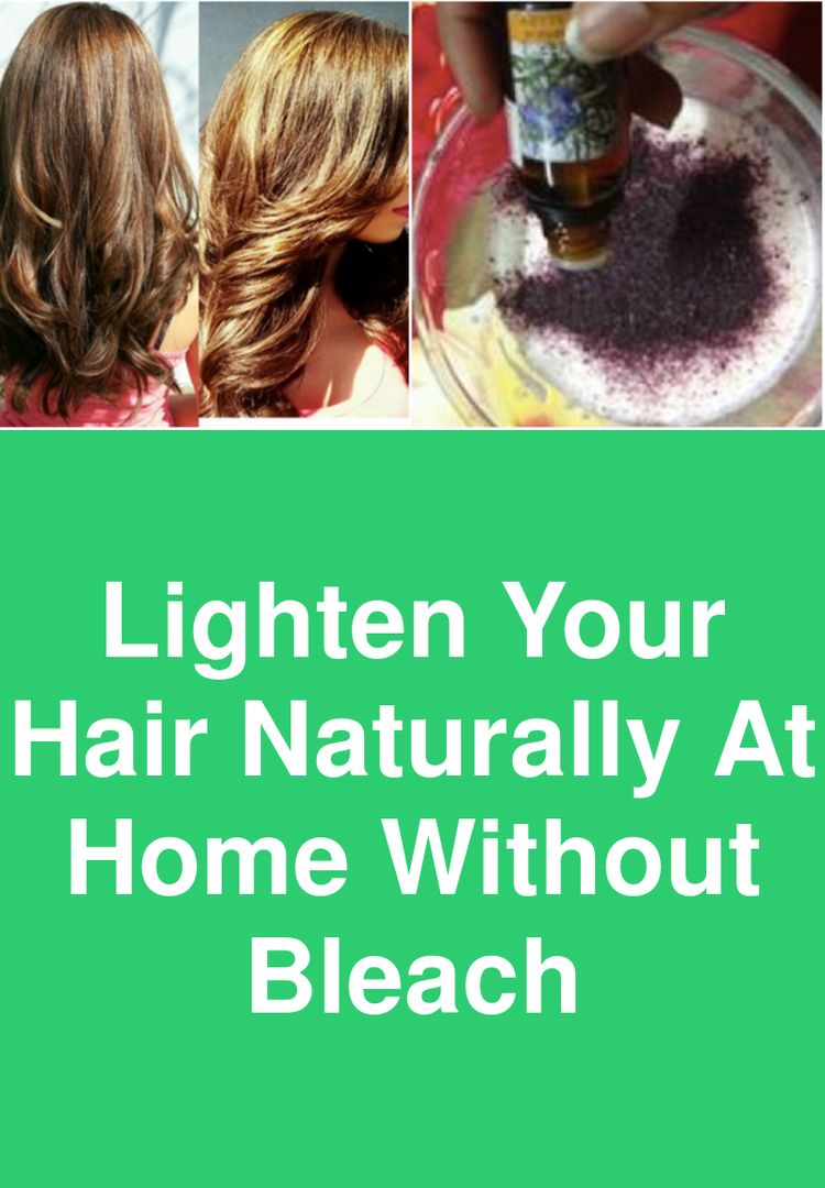 Lighten Your Hair Naturally At Home Without Bleach Hair Co