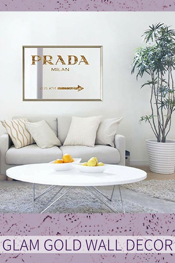 Great For A Living Room Or Bedroom Gold Wall Art Is Trendy Posh And Artsy With Victorian Shabby Chic Hollywood Glam