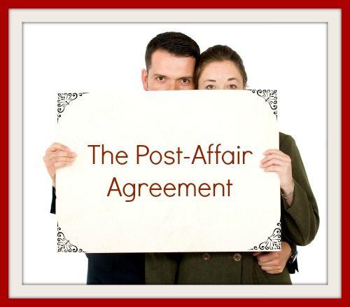 Building trust after affair