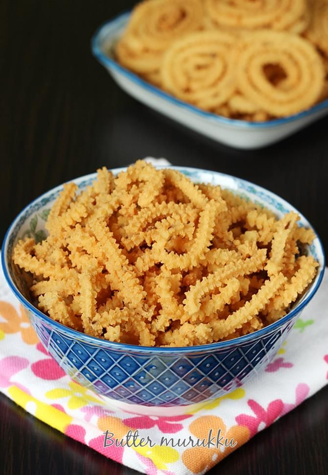 Butter murukku recipe or benne chakli - light, crunchy, delicious, buttery festive snack made with butter, rice flour & other basic ingredients.