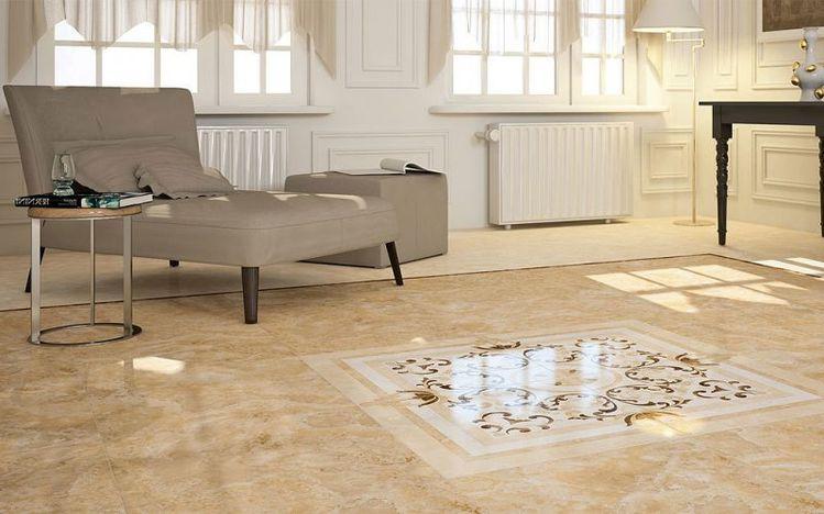 Gestaltung Wohnzimmer Sandstein | Einzigartige Gestaltung 19 Ideen Fur Fliesen Im Wohnzimmer