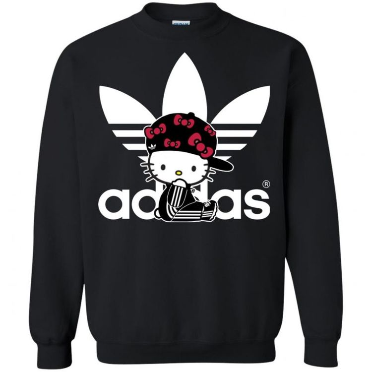 Adidas Hello Kitty Sweatshirt - Shop Adidas 4359062376c85