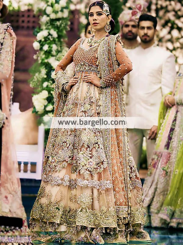 7faeb0cffe Anarkali Style Walima Dresses Designer Walima Bridal Dresses