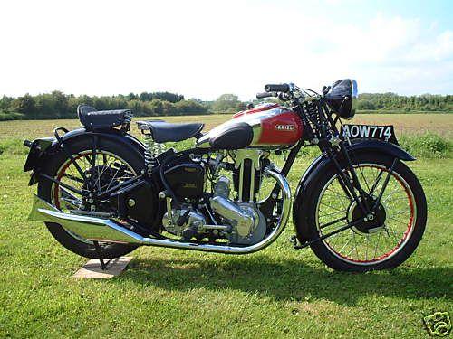 1937 Ariel Red Hunter