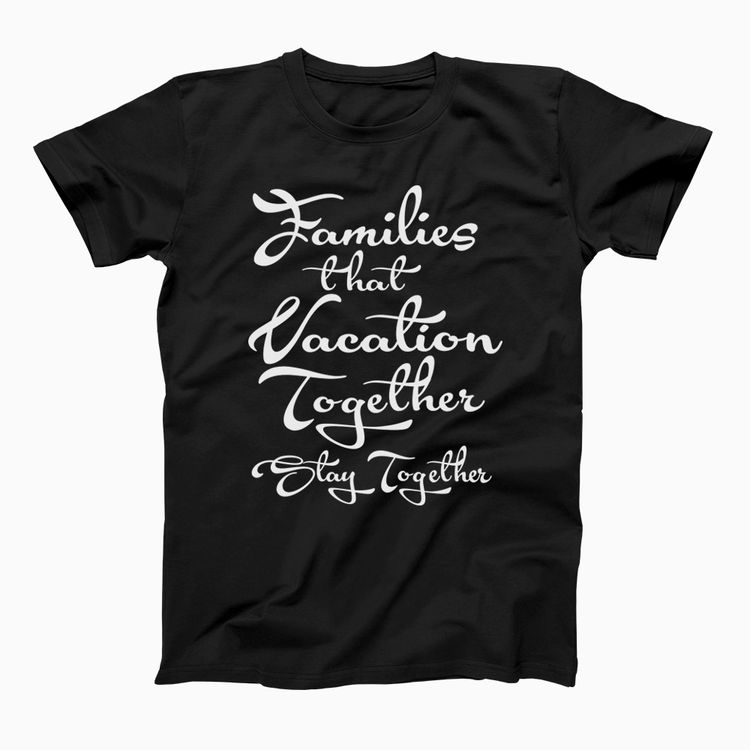 dfc869ad Fun Family Vacation Holiday T-Shirts //Price: $15.89 #style #shirts