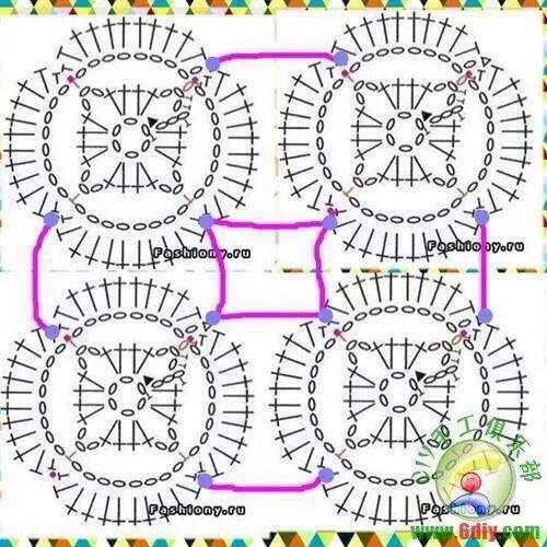 Lo Spazio Di Lilla Copertina Crochet Per Neonato Con I Fio
