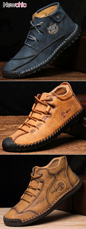 men fashion shoes. #casualshoes #boots