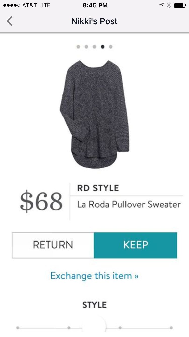 StitchFix 12/28/17....like style, though wish it had shorter sleeves.  Do NOT like color. Need a light neutral or jewel tone.
