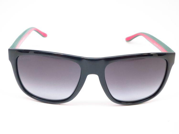 49a3eab3f9 Gucci GG 1118 51N 90 Black Green Red Sunglasses