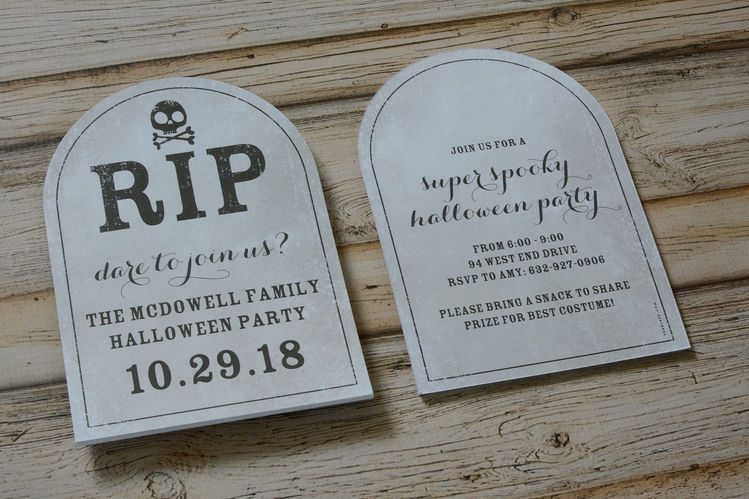 last minute halloween party invitations last minute halloween party ideas rip halloween invite tombstone