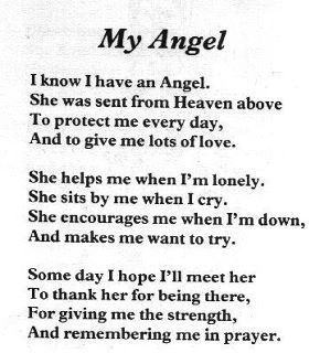 you are my angel quotes for her