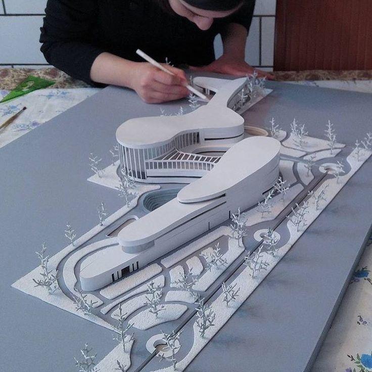 Music garden com museu de música, um edifício monumental para o grande jalil shahn