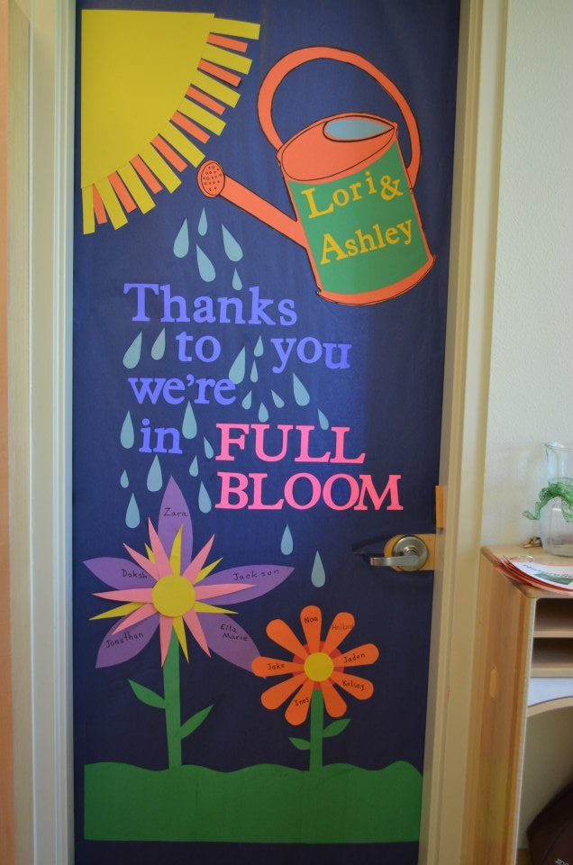 Teacher Appreciation Door Decoration | School | Pinterest ...