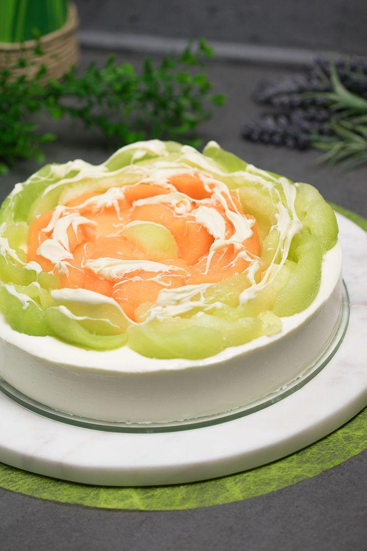 Schneller Joghurt Melonen Kuchen Ohne Boden