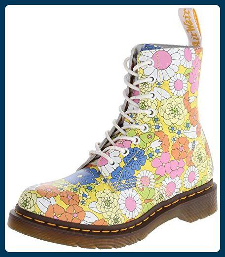 a48f5bda95793 Dr. Martens PASCAL Vintage Daisy YELLOW, Damen Stiefel, Gelb (Yellow), 39  EU (6 Damen UK) - Stiefel für frauen ( Partner-Link)