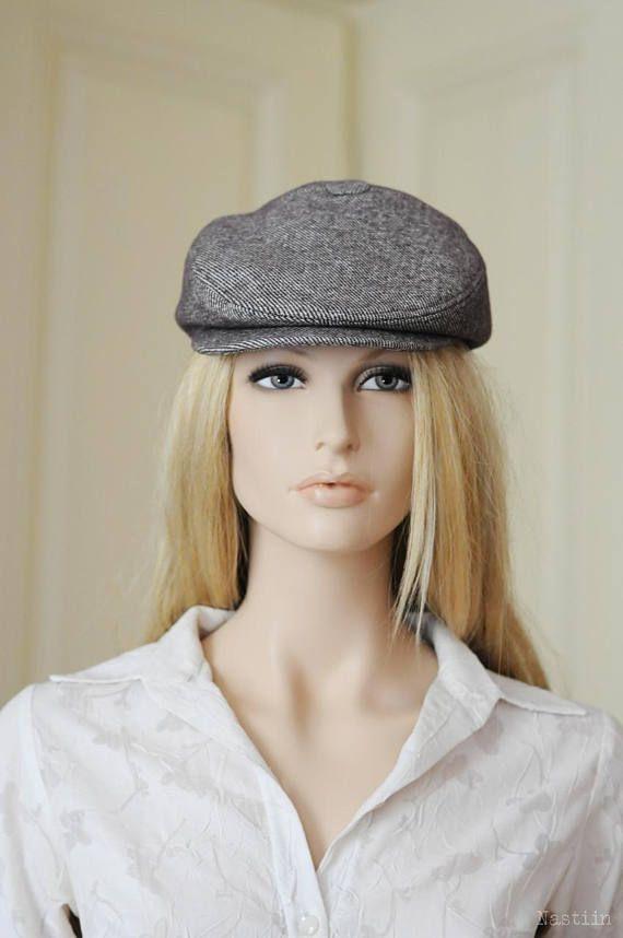 Mocha newsboy hat Womens newsboy cap Mens newsboy hat Wool hat taupe Flat  cap Driver cap for men Derby hat men Newspaper boy hat Cabbie hat 9409cef115c1
