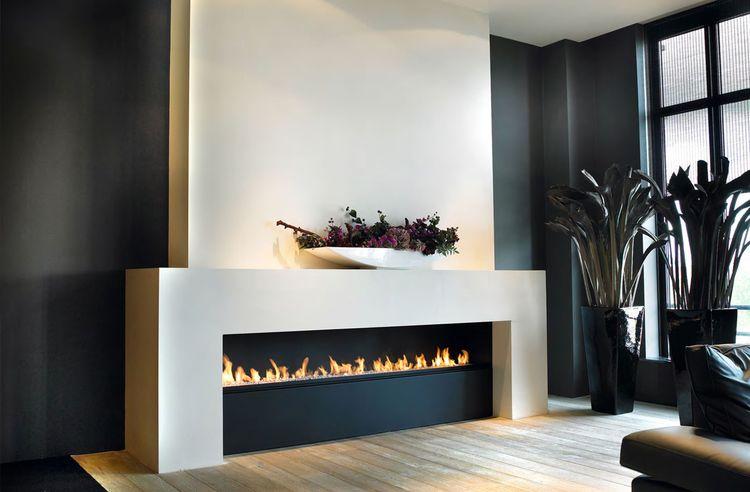Fireplace: linefire angular