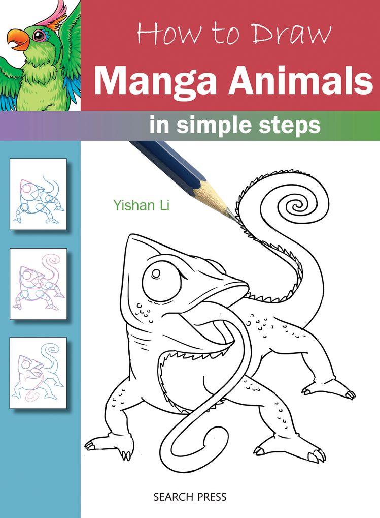 Como desenhar: Manga Animals