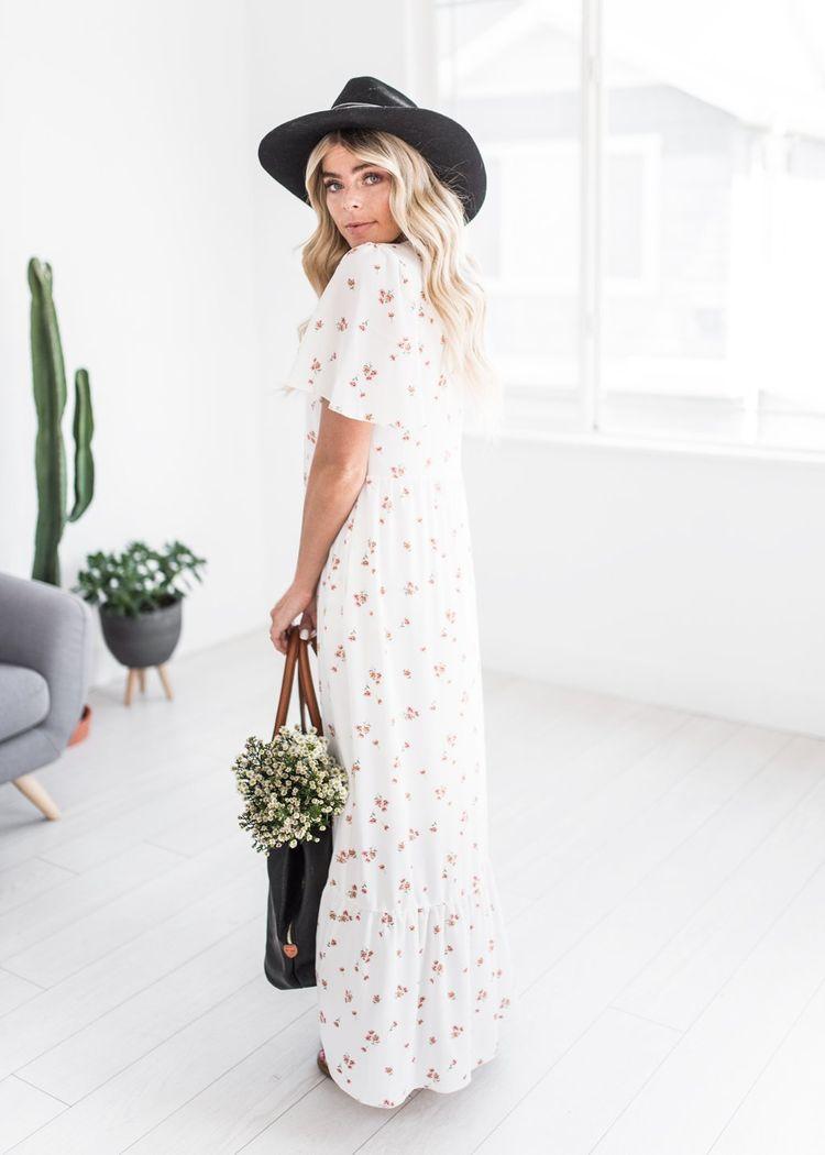 aab452e0f31 Mary Lou Floral Maxi Dress-JessaKae