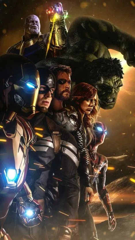Marvel Heroes Avengers iPhone Wallpaper Free - Free PIK PSD