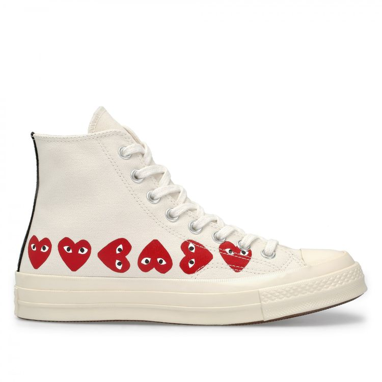 a57f016429a3 Play Converse Multi Heart Chuck Taylor All Star  70 High Top (White)