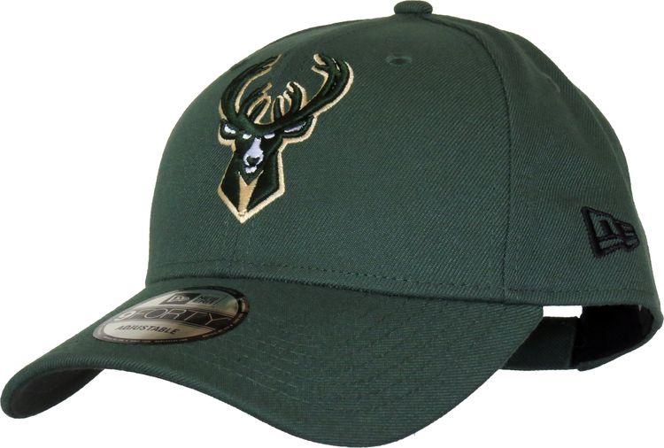 077432bf30a16e Milwaukee Bucks New Era 940 The League NBA Cap