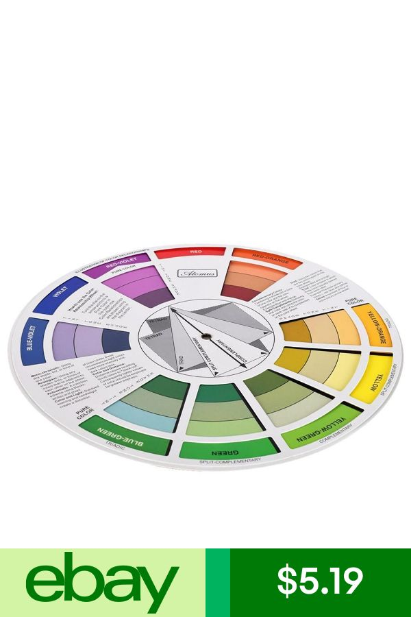 Magic Palette Coloring Matching Guide Color Wheel Color Se