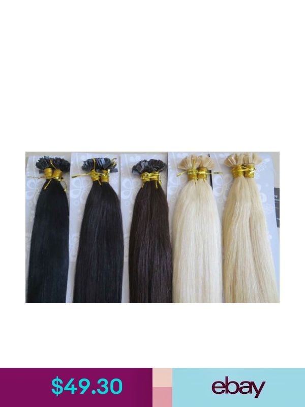 New Aaa 22 Remy Human Hair Flat Tip In Extensions 100s 1g