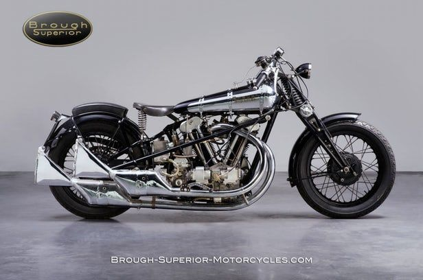 Brough Superior de 1283 cc  1930