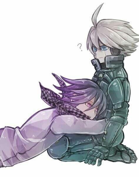Kokichi oma and Kiibo