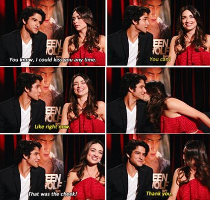 tyler posey and crystal reed :) they are so sweet!!