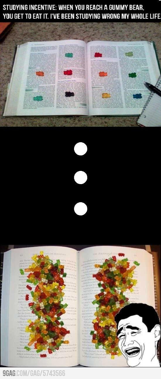 This is what my books would look like if I was still in school