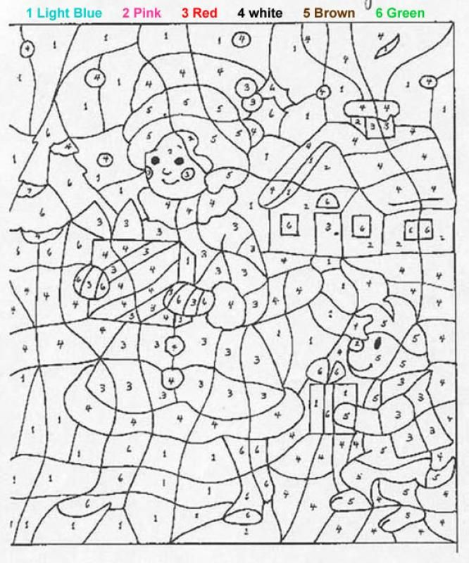 Kids Activity Paint By Numbers Online Or Print Out