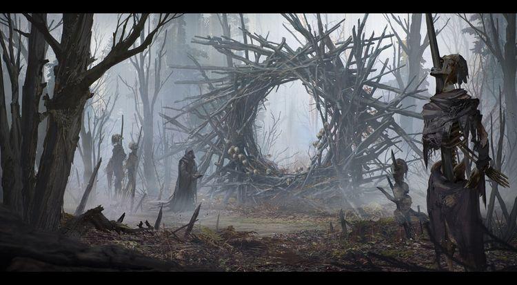 Evocation by Alexander Dudar | Horror | 2D | CGSociety