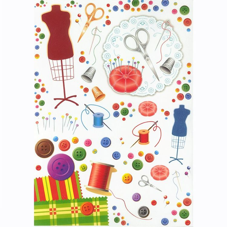 4x Paper Napkins for Decoupage Decopatch Vintage La Boutique de la Mode