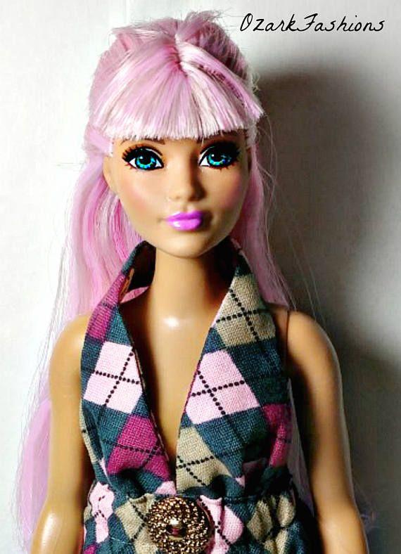 7a32268f7e Barbie Dress ONE SIZE fits ALL Curvy Tall Modern
